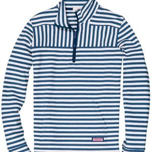 Women Relaxed Stripe Shep Shirt